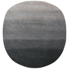 Fluid Organic Shape Wool Rug by Deanna Comellini