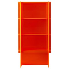 Fluo Cabinet Contemporary Cabinet in Acrylic Sheets by Will Choui
