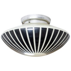 Flushmount Ceiling Light by Birger Dahl, Norway, 1960s