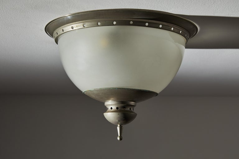 Flush Mount Ceiling Light by Caccia Dominioni for Azucena In Good Condition For Sale In Los Angeles, CA