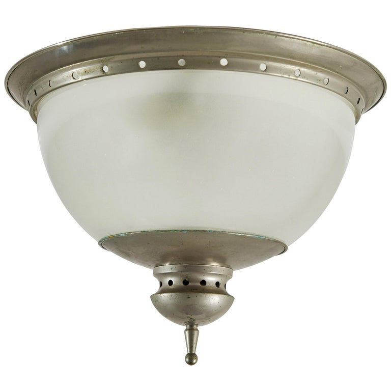 Flush Mount Ceiling Light by Caccia Dominioni for Azucena For Sale
