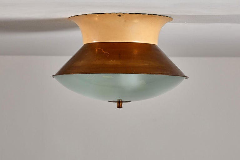 Flush Mount Ceiling Light by Lumi For Sale 2