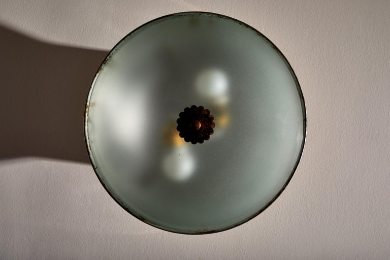 Flush Mount Ceiling Light by Lumi In Good Condition For Sale In Los Angeles, CA