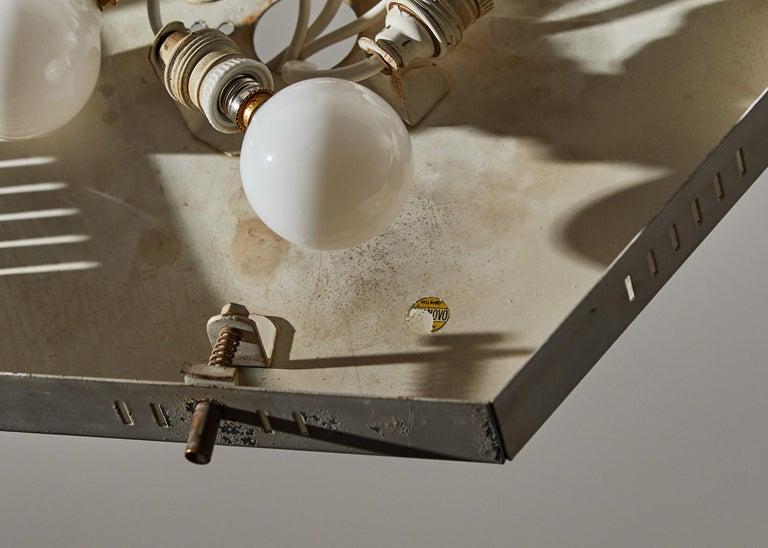 Flush Mount Ceiling Light by Stilnovo For Sale 3