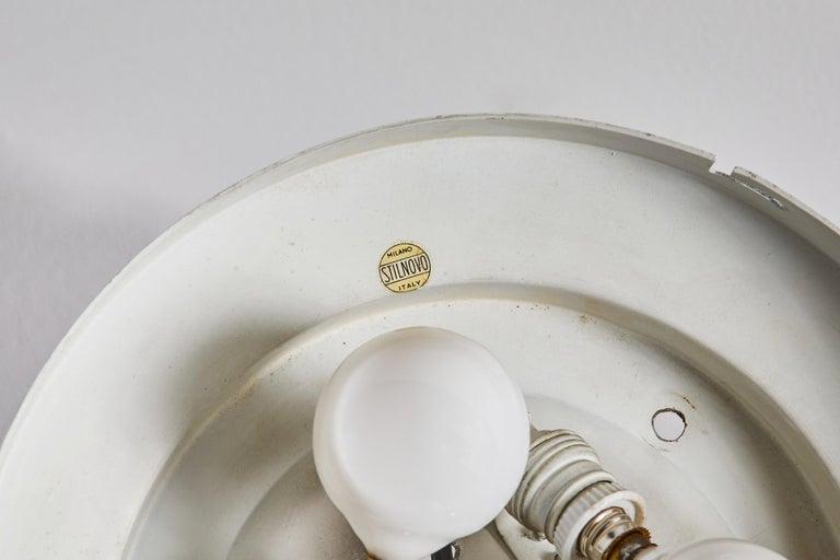 Flush Mount Ceiling Light by Stilnovo For Sale 4