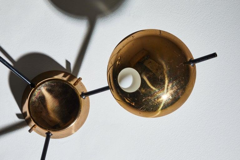 Flush Mount Ceiling Light by Stilnovo For Sale 7