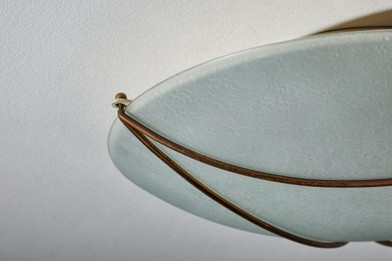 Flush Mount Ceiling Light by Stilnovo For Sale 5