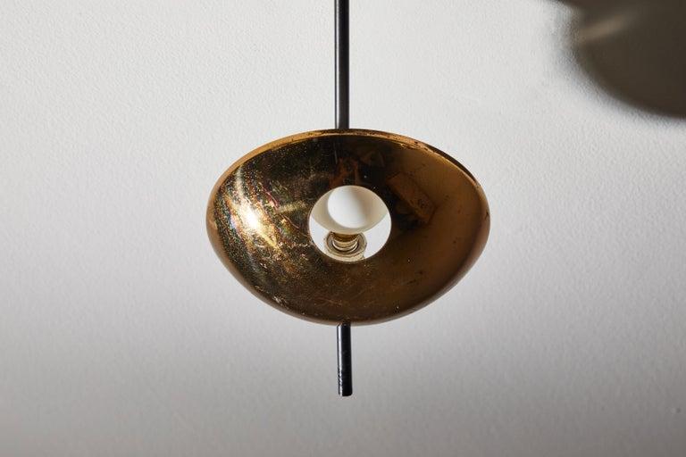 Flush Mount Ceiling Light by Stilnovo For Sale 8