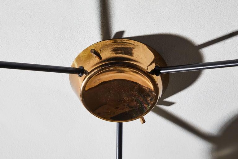 Flush Mount Ceiling Light by Stilnovo For Sale 9