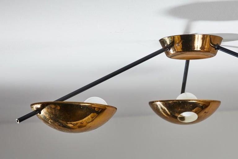 Flush Mount Ceiling Light by Stilnovo For Sale 10