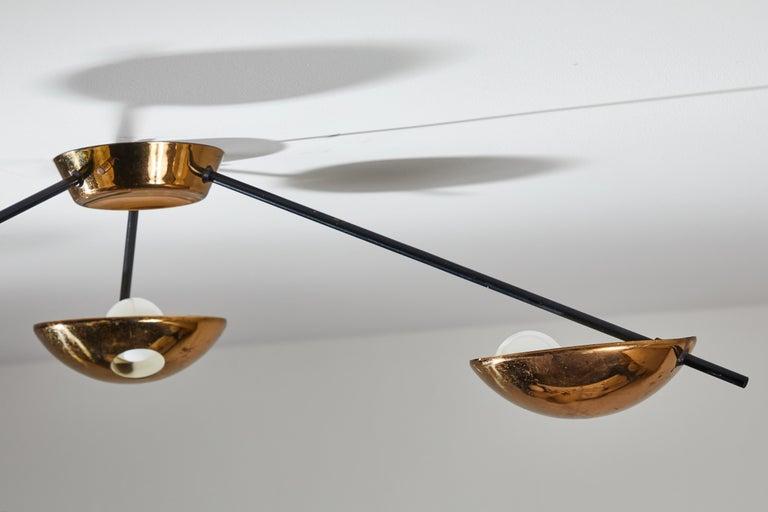 Flush Mount Ceiling Light by Stilnovo For Sale 11