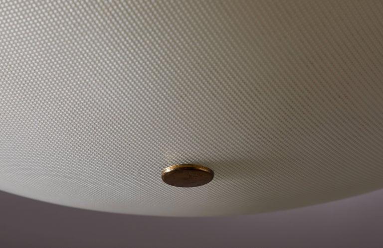 Flush Mount Ceiling Light by Stilnovo For Sale 1