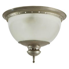 Flush Mount Ceiling Light in the Style of Caccia Dominioni for Azucena