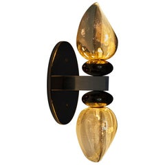 "Brancusi Inspired ""Thorn 302"" Flush-Mounted Sconce In-Stock & Ready to Ship"