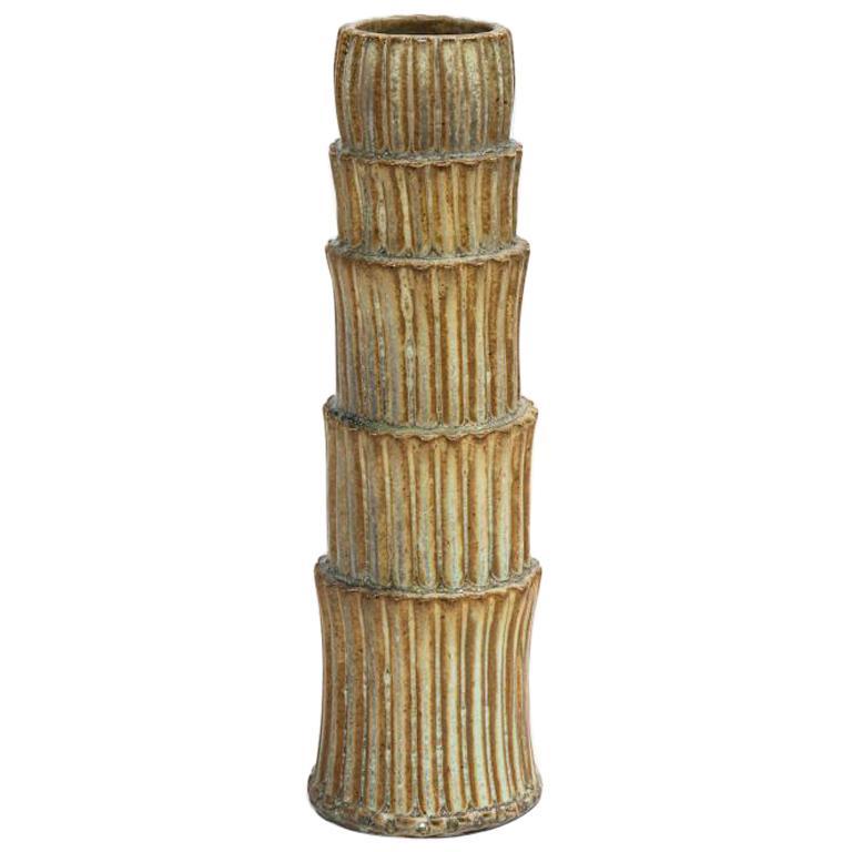 Fluted Stack Vase #2 by Robbie Heidinger