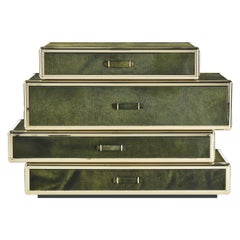 Fly Case Chests of Drawers in Wood by Roberto Cavalli