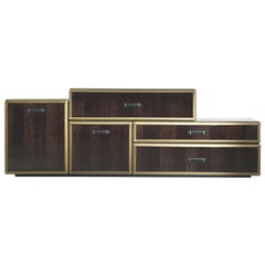 Fly Case Small Sideboard in Wood with Doors and Drawers Left by Roberto Cavalli