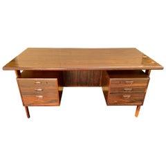FM 60 Desk in Santos Rosewood by Kai Kristiansen for Feldballes Mobelfabrik