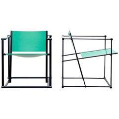 FM60 Cube Chairs by Radboud Van Beekum for Pastoe in Bright Green