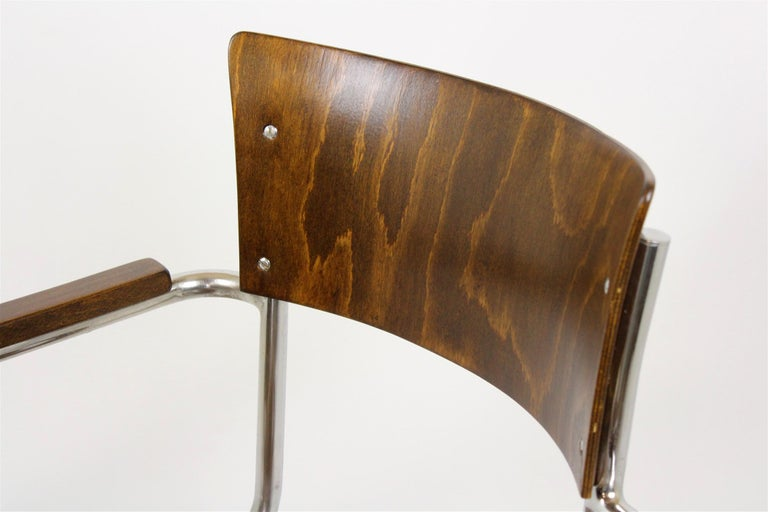 Fn 6 Cantilever Chair by Mart Stam for Mücke-Melder, 1930s For Sale 6