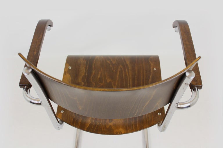 Fn 6 Cantilever Chair by Mart Stam for Mücke-Melder, 1930s For Sale 9