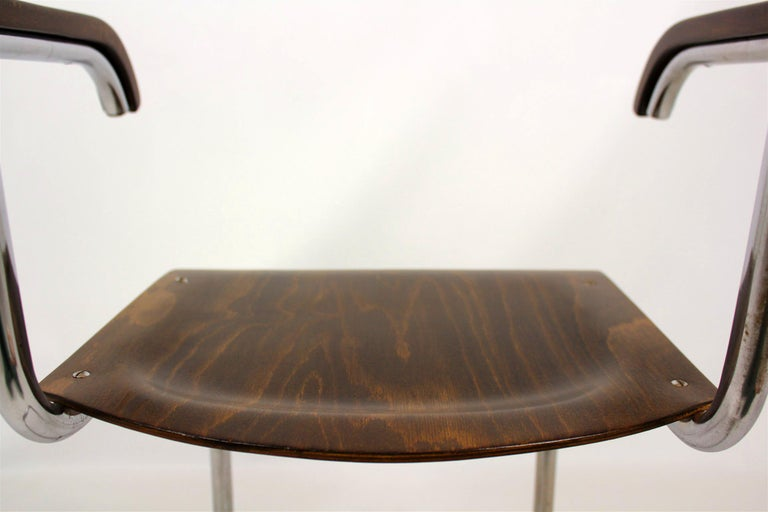 Fn 6 Cantilever Chair by Mart Stam for Mücke-Melder, 1930s For Sale 10
