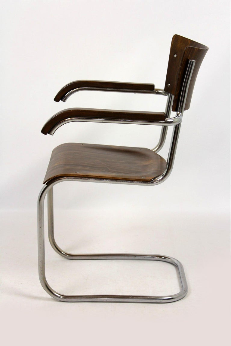 Czech Fn 6 Cantilever Chair by Mart Stam for Mücke-Melder, 1930s For Sale