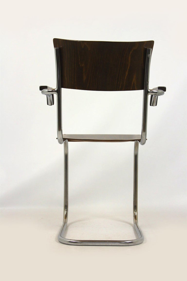 Fn 6 Cantilever Chair by Mart Stam for Mücke-Melder, 1930s In Good Condition For Sale In Zory, PL