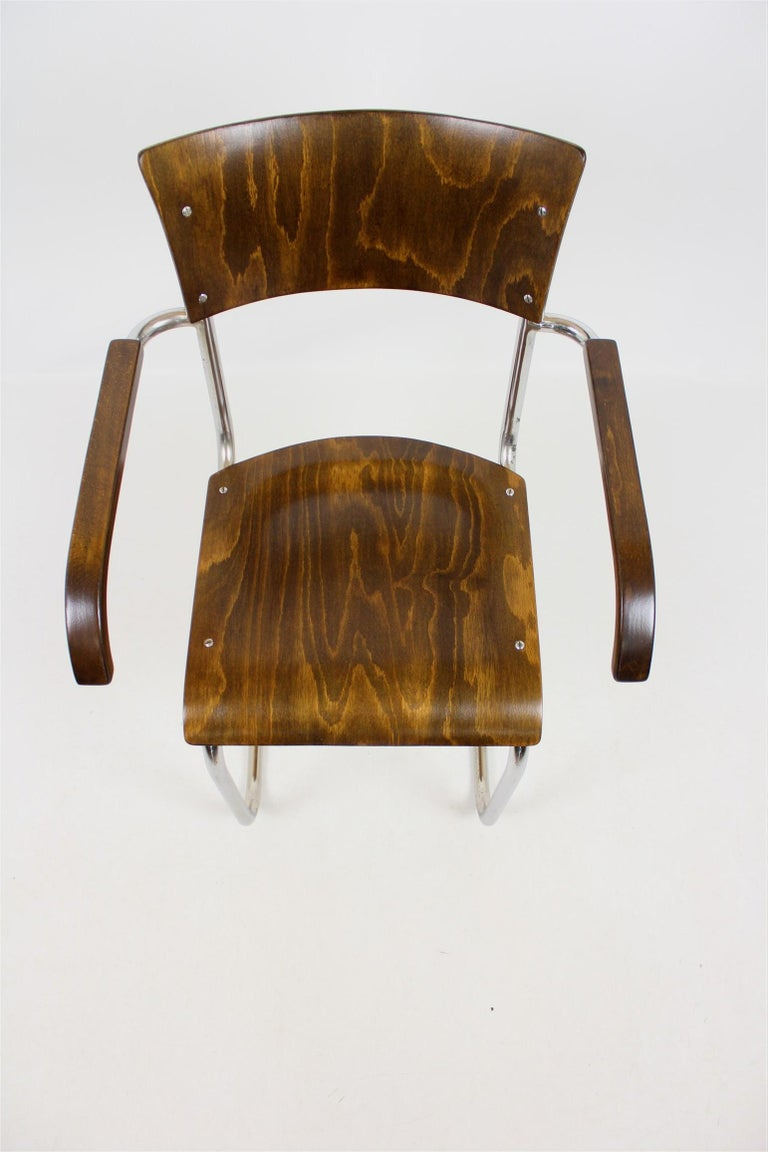 Mid-20th Century Fn 6 Cantilever Chair by Mart Stam for Mücke-Melder, 1930s For Sale