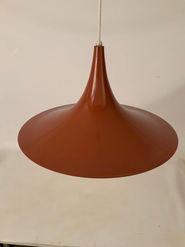 Scandinavian Modern Fog & Mørup Danish Pendant Light For Sale