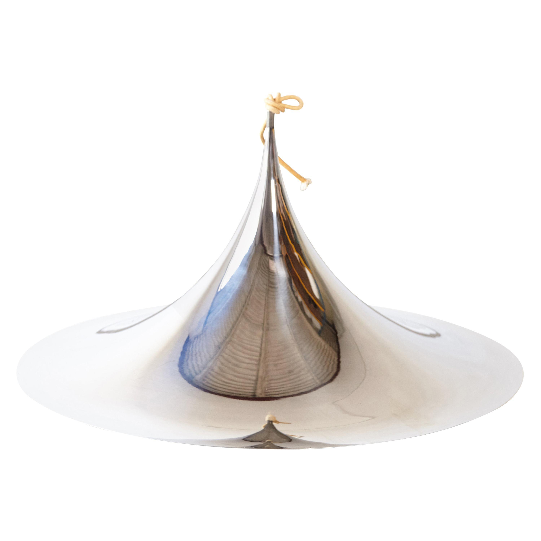 Fog and Mørup Large Semi Pendel Pendant Lamp, Denmark, 1960s