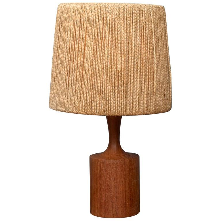 Fog & Morup Jute Table Lamp For Sale