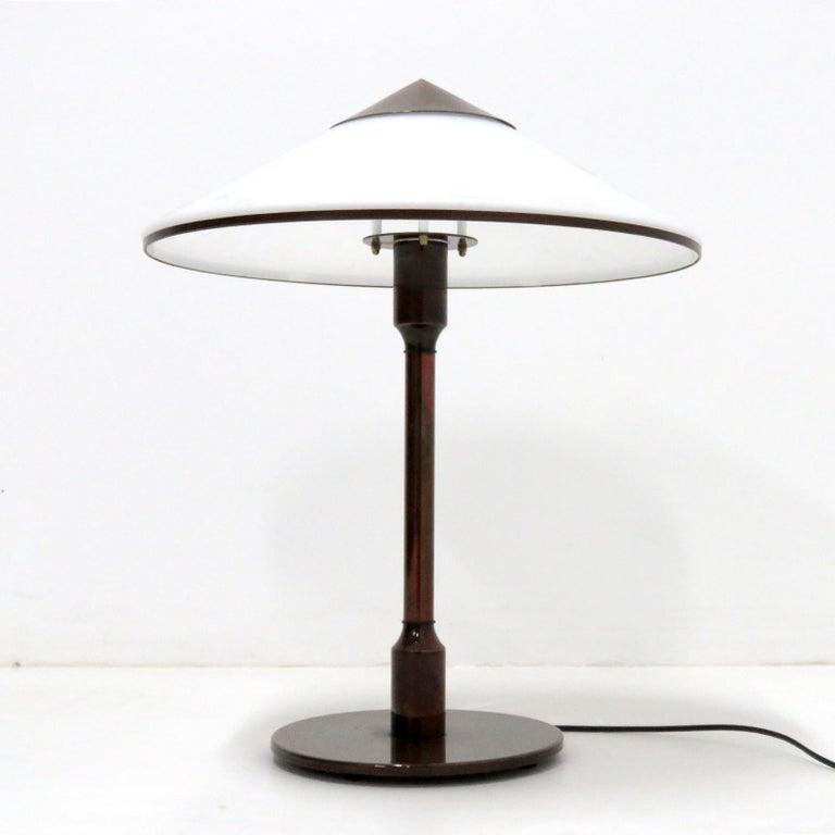 Mid-Century Modern Fog & Mørup 'Kongelys' Table Lamp For Sale