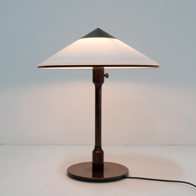 Brass Fog & Mørup 'Kongelys' Table Lamp For Sale