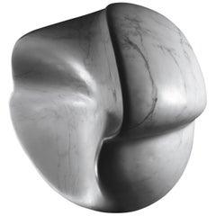 Foglia Femminile Sculpture in Bianca Carrara Marble by Kreoo