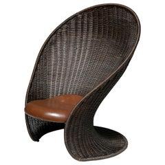 Foglia Lounge Chair by Travasa for Bonacina