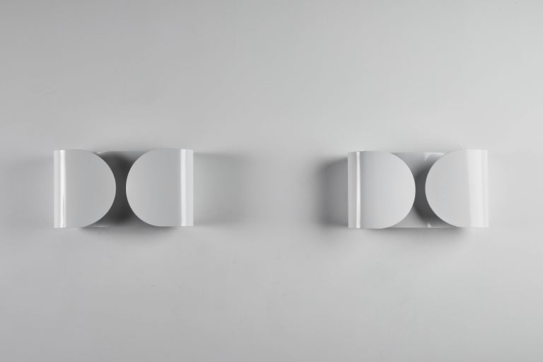 Mid-Century Modern Foglio Sconce by Tobia Scarpa for Flos For Sale