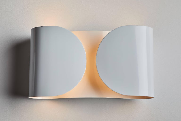 Italian Foglio Sconce by Tobia Scarpa for Flos For Sale