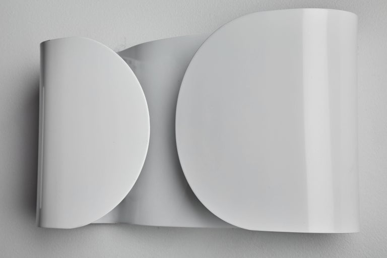 Foglio Sconce by Tobia Scarpa for Flos In Excellent Condition For Sale In Los Angeles, CA