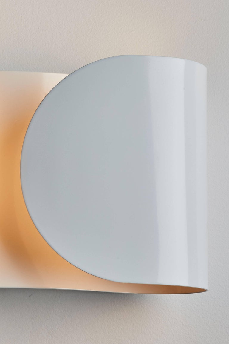 Steel Foglio Sconce by Tobia Scarpa for Flos For Sale