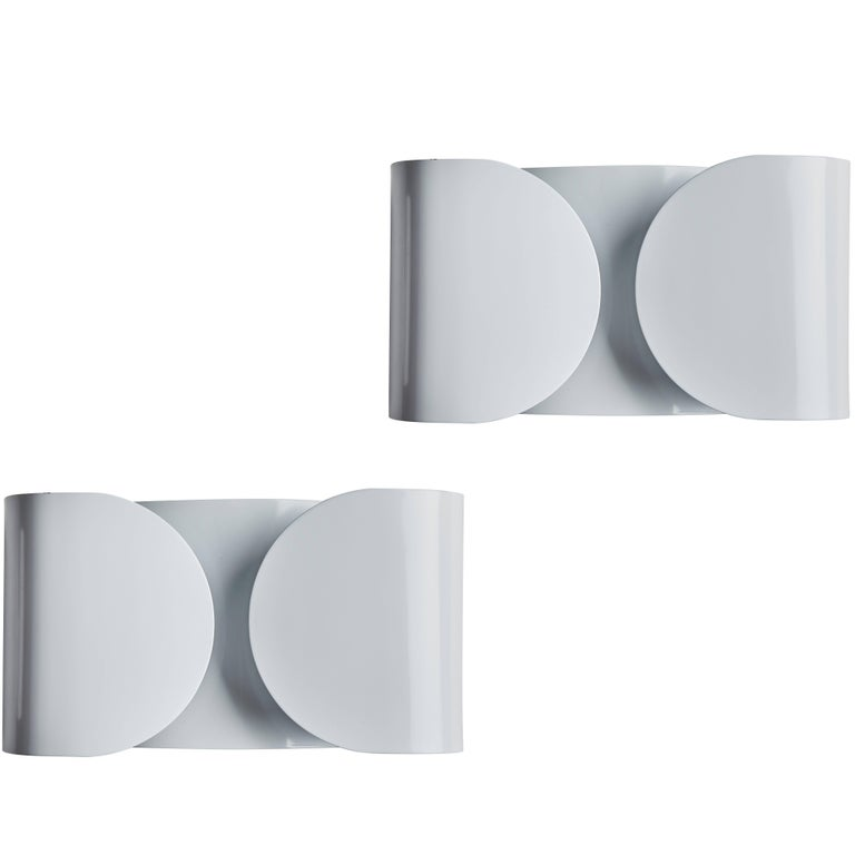 Foglio Sconce by Tobia Scarpa for Flos For Sale