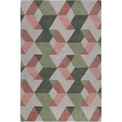 Fold Hand-Knotted 10x8 Rug in Wool by The Rug Company
