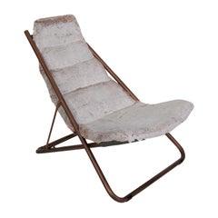 Fold White Deckchair