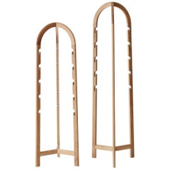 Foldable Clothes Hanger / Hall Stand in Ash Oak or Black