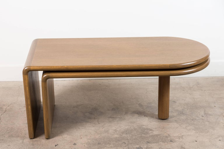 Foldable Coffee Table c1970s In Excellent Condition In Los Angeles, CA