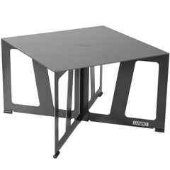 """Foldable Industrial Lounge and Coffee Table in Steel """"Zurich 202, Quadro"""""""