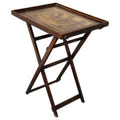 Foldable Side Table Collection Des Prospects Refined Imperial Chinese