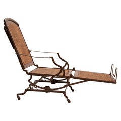 Folded Cruise Ship Chaise-Longue, USA, 1890
