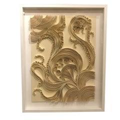 Folded Paper Artwork, France, Contemporary