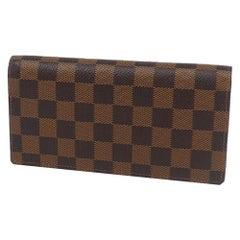 Folded  portofeuilles Brazza  Mens  long wallet N60017  Damier ebene